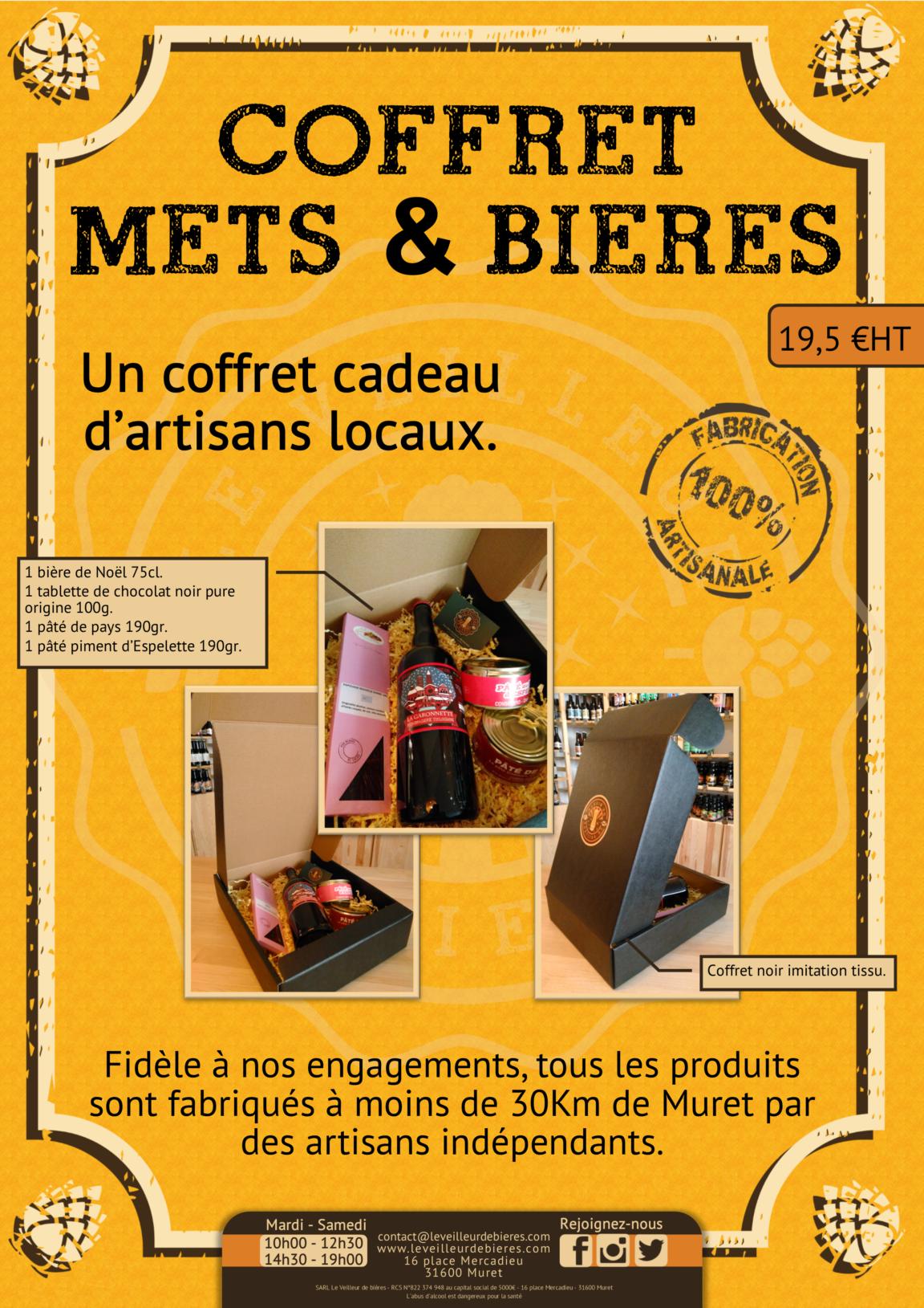 COFFRET BIERES METS